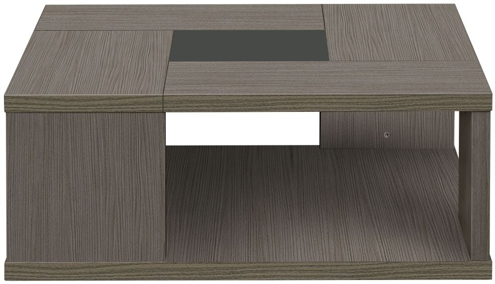 Gami Hanna Ceruse Oak Coffee Table - Square Low