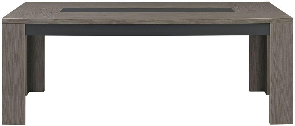 Gami Hanna Ceruse Oak Dining Table - Rectangular