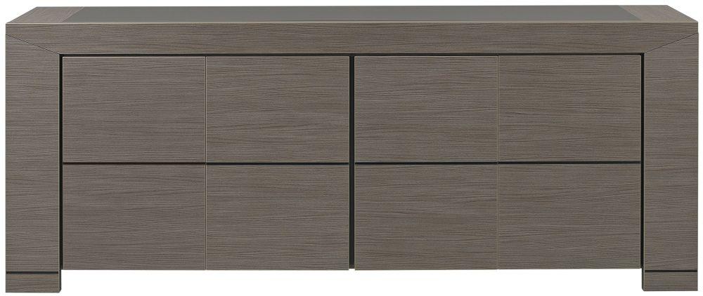 Gami Hanna Ceruse Oak Sideboard - 4 Door
