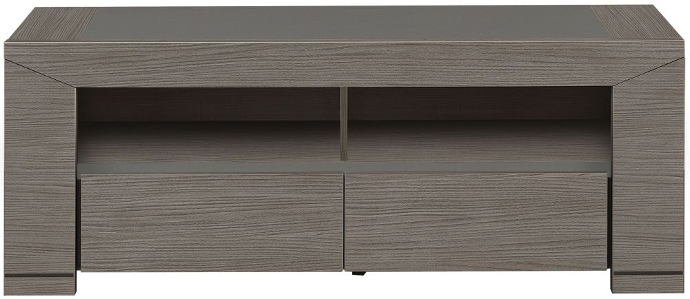 Gami Hanna Ceruse Oak TV unit - 2 Drawer