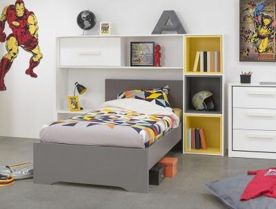 Gami Jeko Grey Bed