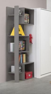 Gami Jeko Grey Bookcase