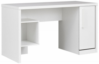 Gami Jeko White Desk - 1 Door