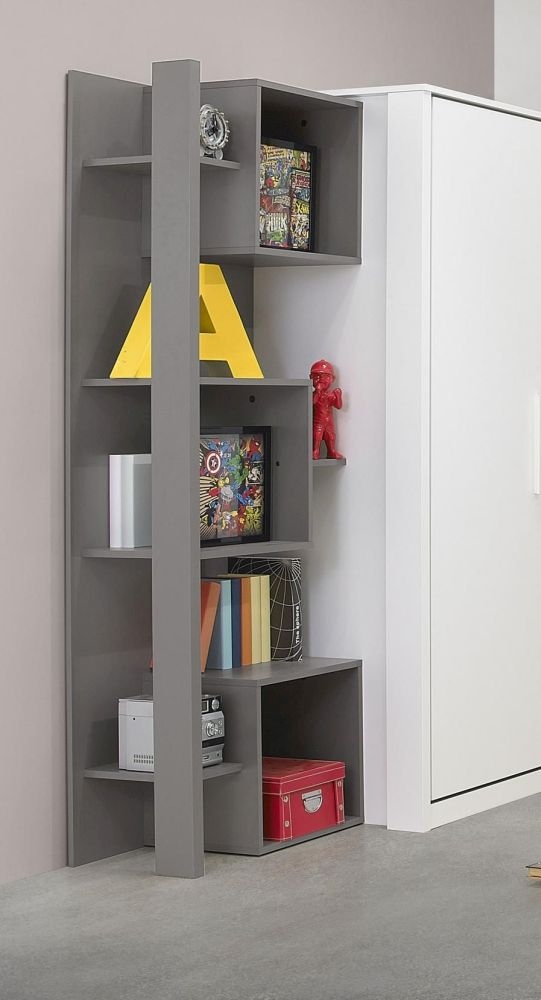Gami Jeko Grey Bookcase