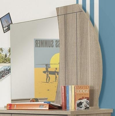 Gami Largo Grey Oak Mirror