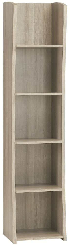 Gami Largo Grey Oak Bookcase
