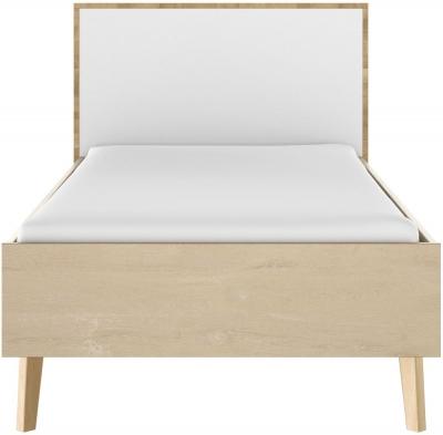 Gami Larvik Blond Oak Bed