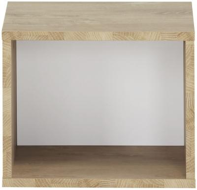 Gami Larvik Blond Oak Wall Mounted Cube