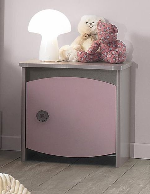 Gami Lilly Bedside Cabinet - 1 Door