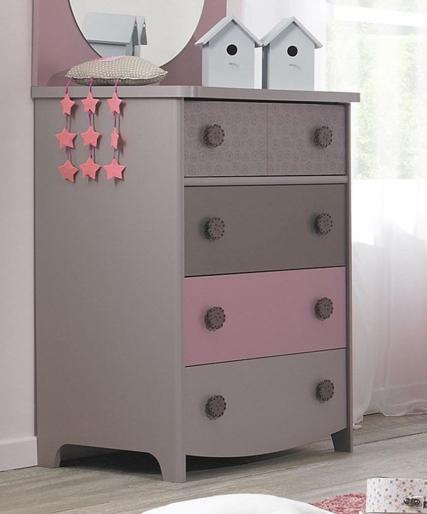 Gami Lilly Chest of Drawer - 4 Drawer
