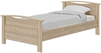 Gami Montana Blond Oak Bed