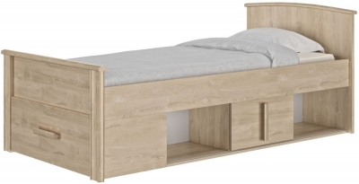 Gami Montana Blond Oak Compact Bed