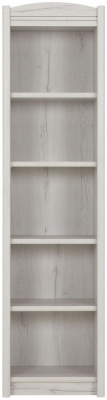 Gami Montana Whitewashed Oak Bookcase