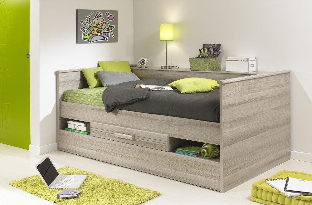Gami Montana Grey Oak Combined Low Bed