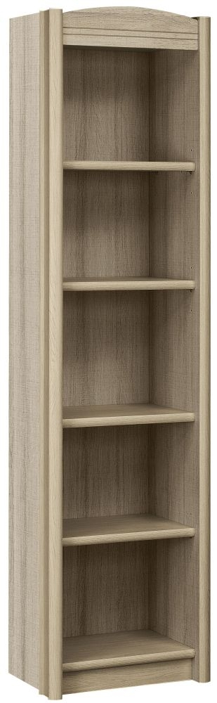 Gami Montana Grey Oak Desk Bookcase