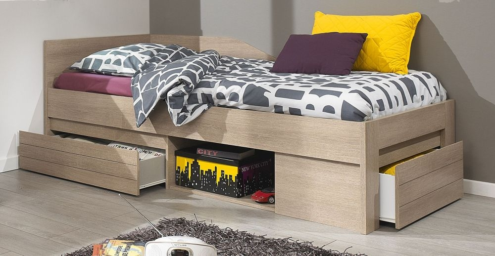 Gami Naturela Hazelnut Oak Day Bed