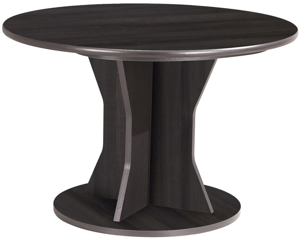 Gami Palace Plum Dining Table - Round Extending