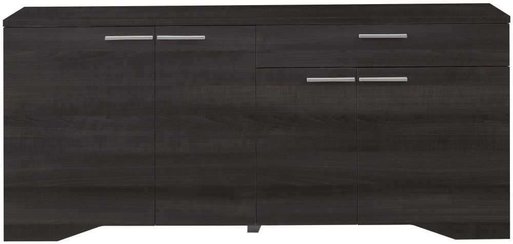 Gami Palace Plum Sideboard - 4 Door 1 Drawer