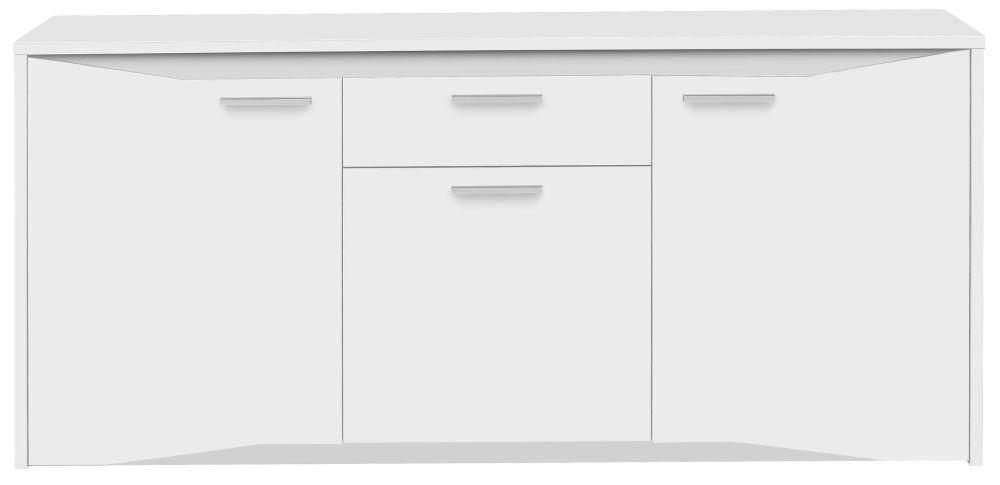 Gami Palace White Sideboard - 3 Door 1 Drawer