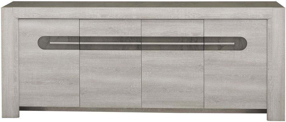 Gami Sandro Ceruse Oak Large Sideboard