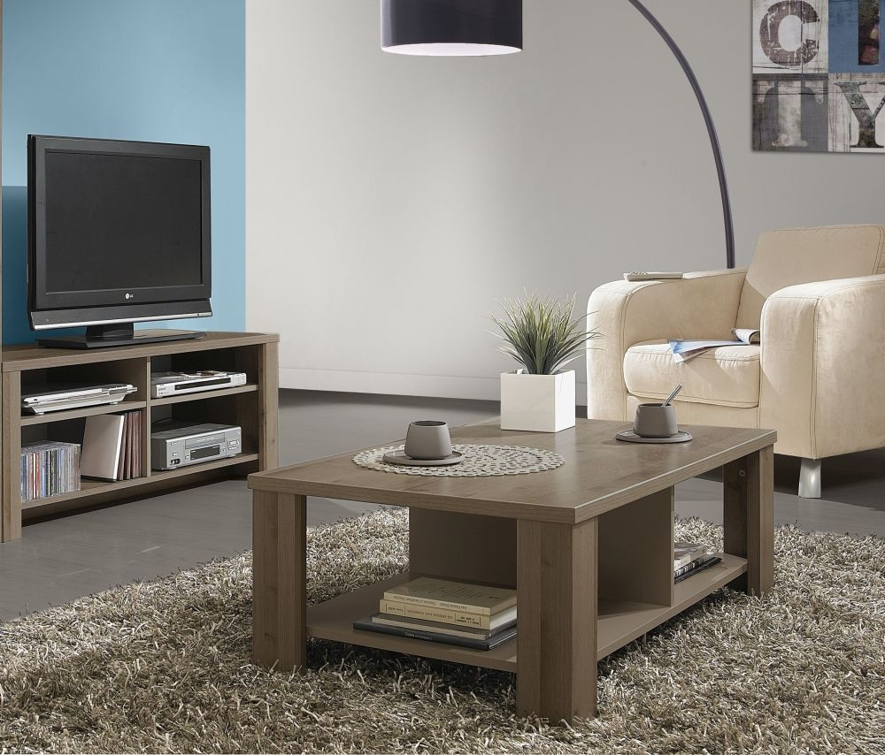 Gami Sha Smoky Oak Coffee Table