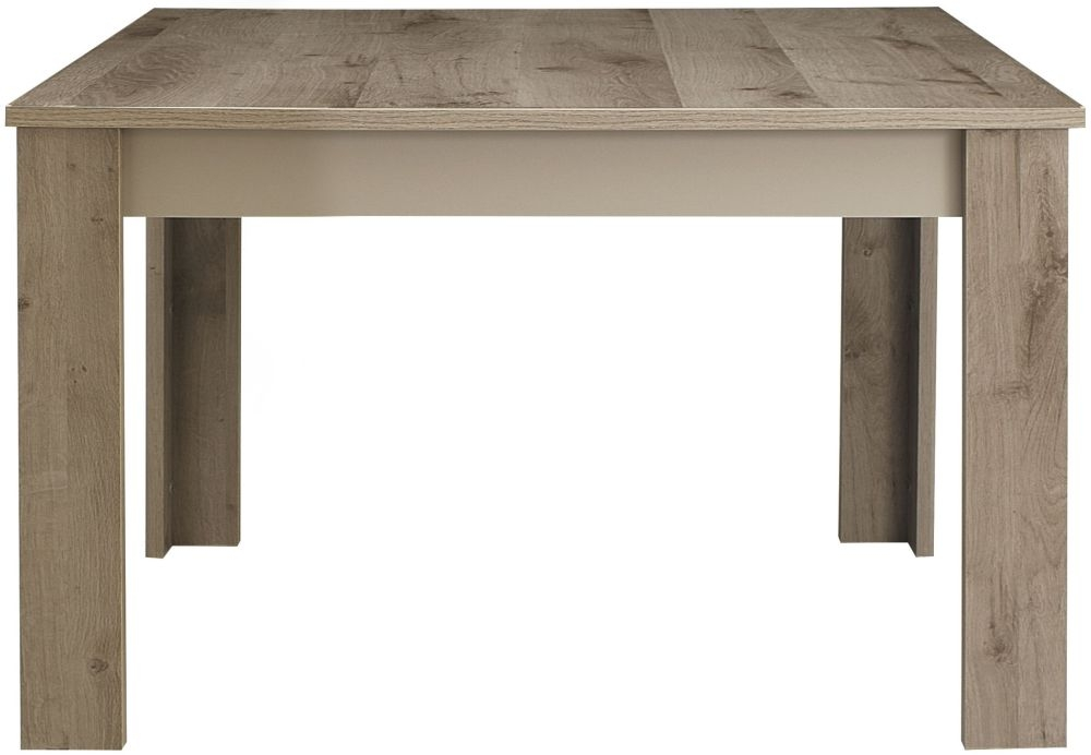 Gami Sha Smoky Oak Dining Table - Rectangular