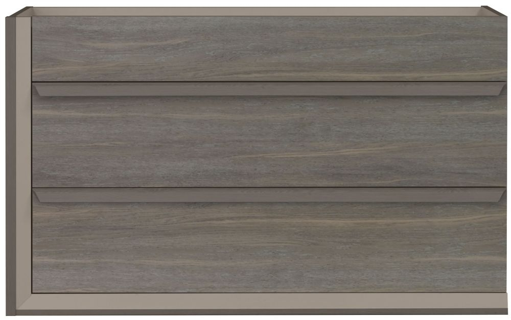 Gami Siena Baroque Oak Chest of Drawer - 3 Drawer