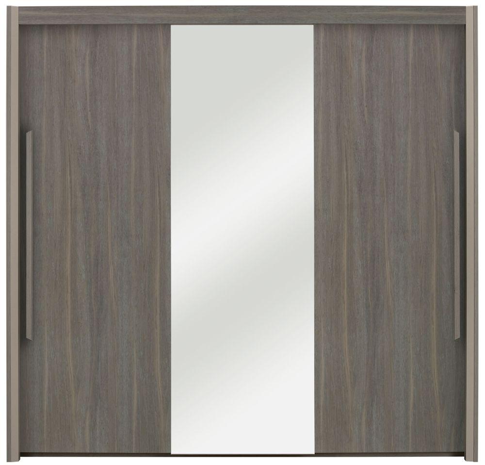 Gami Siena Baroque Oak Sliding Wardrobe - 3 Door