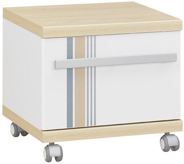 Gami Titouan Bedside Cabinet - 1 Drawer