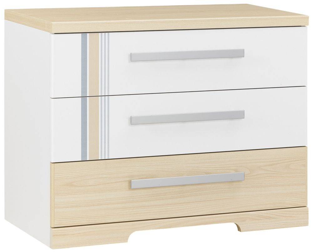 Gami Titouan Chest of Drawer - 3 Drawer