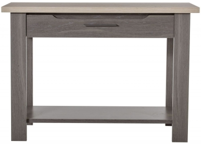 Gami Toscane Baroque Oak Hall Table - 1 Drawer with 1 Shelf
