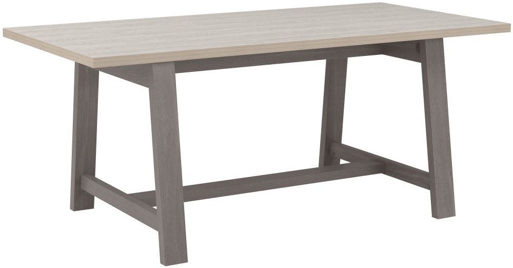 Gami Toscane Baroque Oak Dining Table - Rectangular