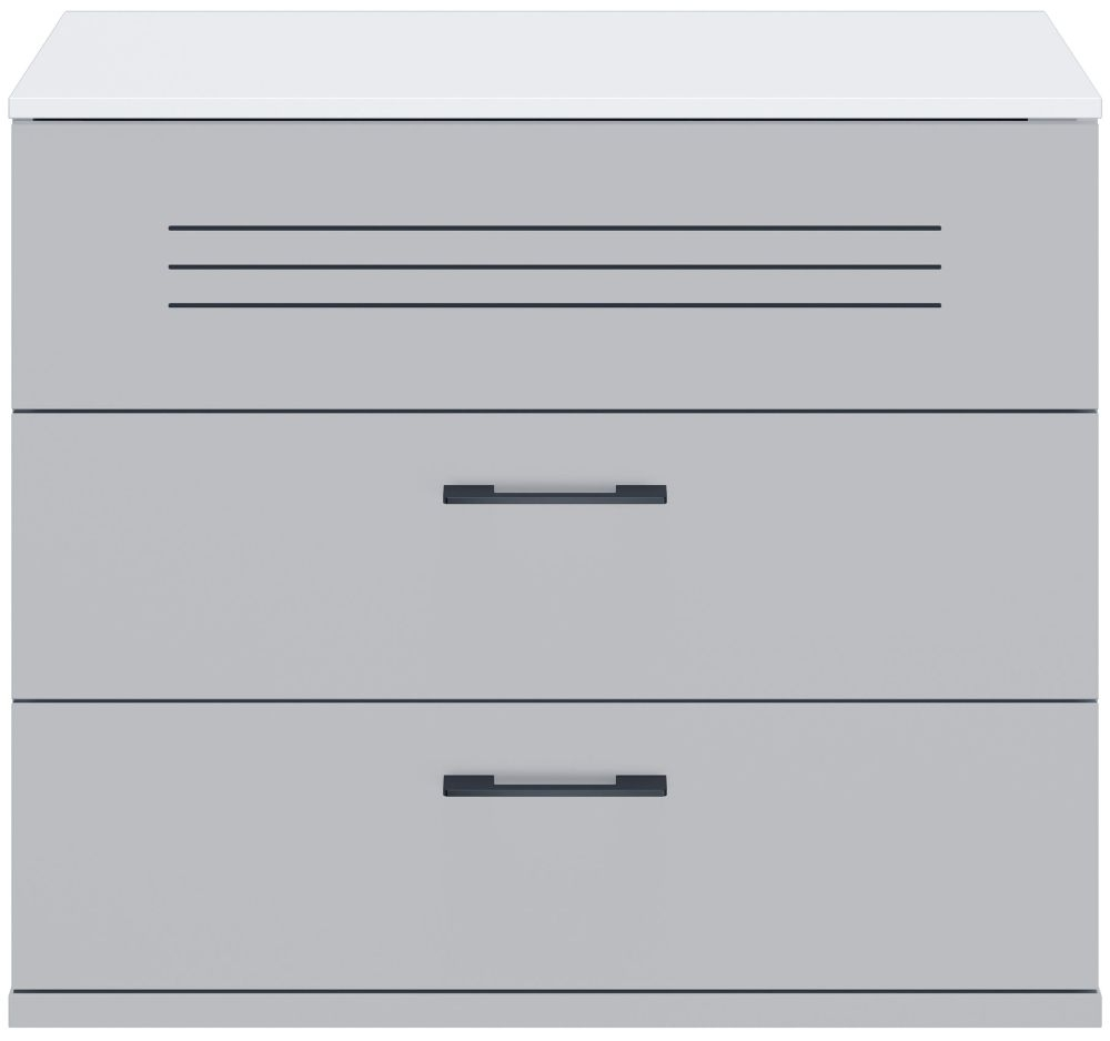 Gami UGO Moon Grey 3 Drawer Chest