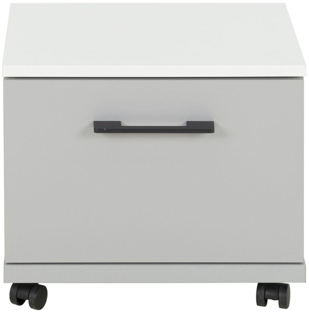 Gami UGO Moon Grey Bedside Cabinet