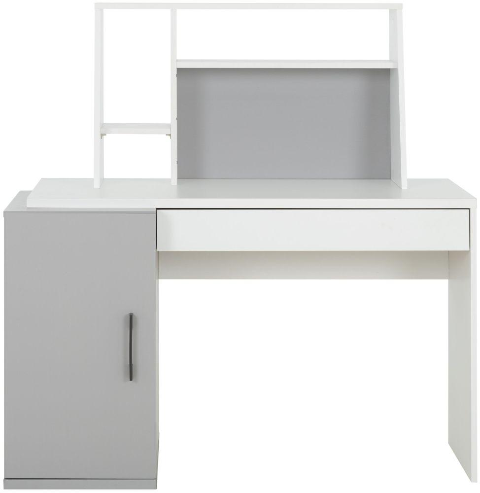 Gami UGO Moon Grey Desk with Top Unit