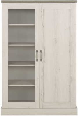 Gami Vermont Whitewashed Helvezia Oak Display Cabinet