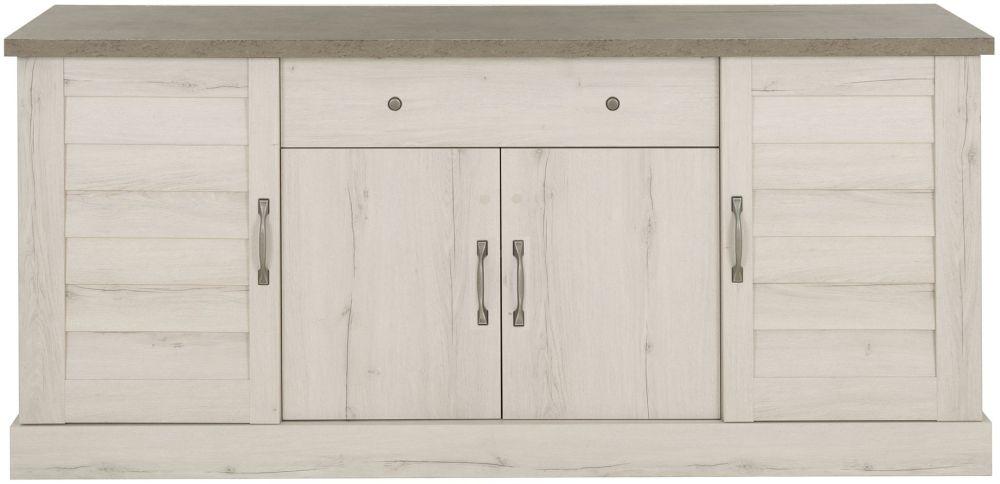 Gami Vermont Whitewashed Helvezia Oak Sideboard