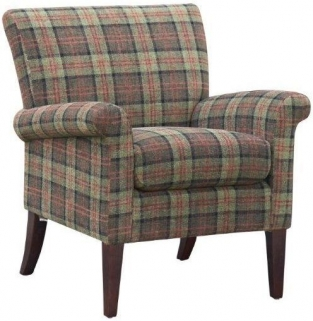 GFA Balmoral Moss Green Fabric Chair