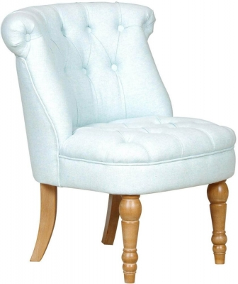 GFA Cotsworld Duck Egg Fabric Chair