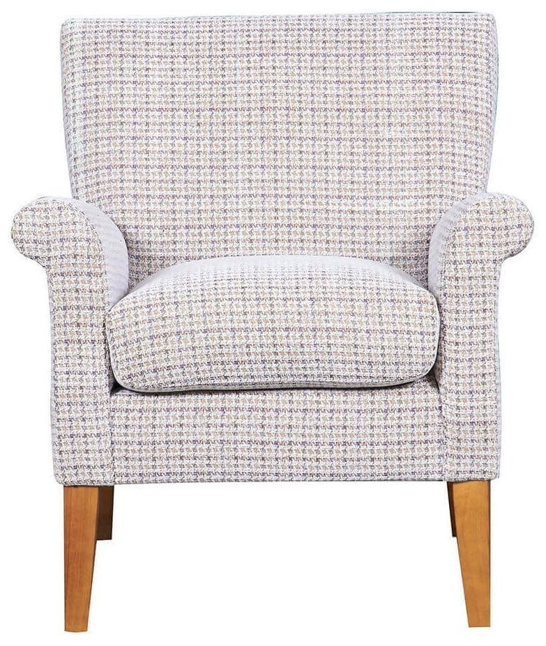 GFA Balmoral Barley Weave Fabric Armchair