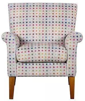 GFA Balmoral Confetti Fabric Armchair