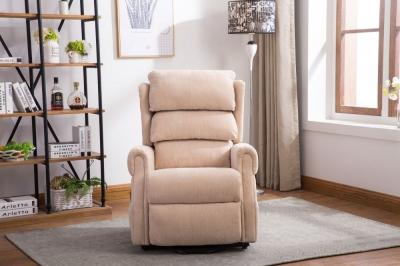 GFA Agatha Riser Recliner Chair - Beige Fabric