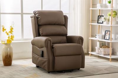 GFA Agatha Riser Recliner Chair - Cream Truffle Fabric
