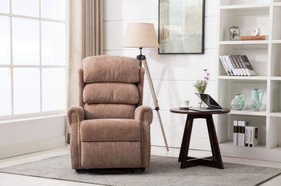 GFA Agatha Riser Recliner Chair - Fawn Fabric