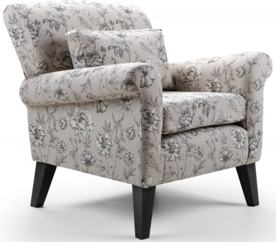 GFA Beaumont Printed Fabric Accent Chair