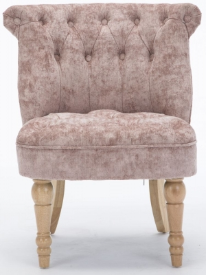 GFA Cotswold Accent Chair - Blush Fabric