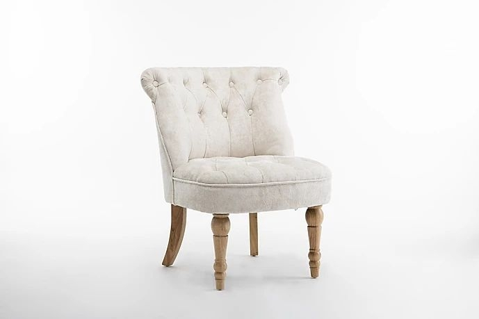 GFA Cotswold Accent Chair - Pearl Fabric