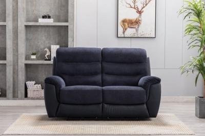 GFA Dallas 2 Seater Fabric Recliner Sofa