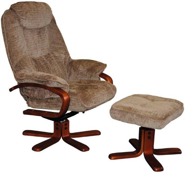 GFA Hong Kong Mink Fabric Swivel Recliner Chair  sc 1 st  Choice Furniture Superstore & Buy GFA Hong Kong Mink Fabric Swivel Recliner Chair Online - CFS UK islam-shia.org