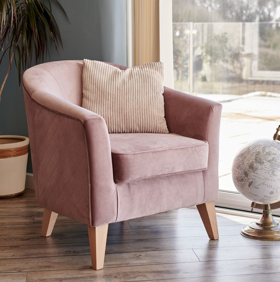 GFA Galway Accent Fabric Tub Chair